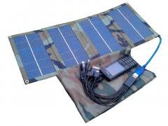 Портативное зарядное устройство на солнечной батарее