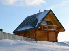Настоящая русская баня на дровах