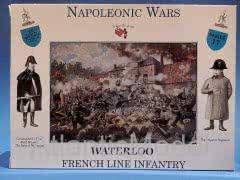 Солдатики, французская линейная пехота, 16 шт