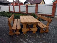 Деревянная садовая мебель, в наличии и под заказ