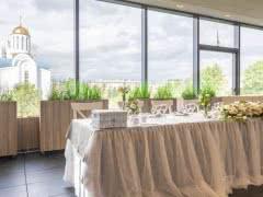 Банкетный зал 'Панорама' на корпоратив, юбилей, свадьбу