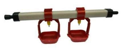 Автоматическая система ниппельного поения 30 см