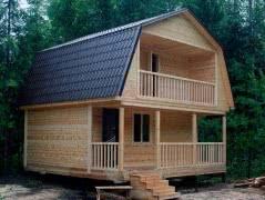 Строительство каркасного домика для дачи