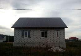 Новый дом из блоков в мкр. Заречье