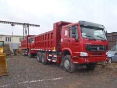 Самосвал «Howo» - 25 тонн, 6х4, ЕВРО-4, 2012г. выпуска