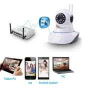 Поворотная Wi-Fi IP камера