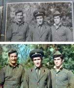 Реставрация фотографий, восстановление цвета.