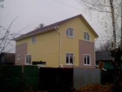 Строительство домов и бань по умеренным ценам