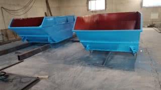 Изготовление бункеров лодочка 8 куб.м