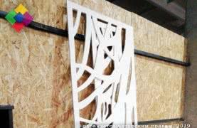 Резные перегородки, решетки, декоративные панели
