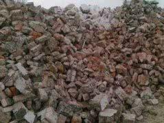 Продам битый кирпич и дробленый бетон