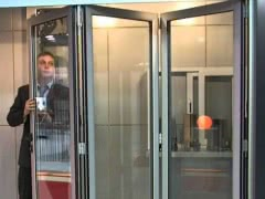Складывающиеся двери 'гармошка'